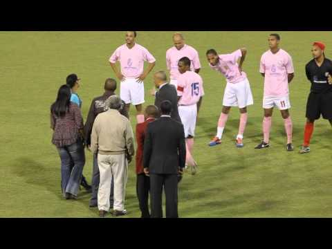 Game Intro Dudley Eve Cup Final Bermuda October 26 2011