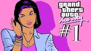 GTA: VICE CITY. Полное прохождение #1. Паук на заднем плане.