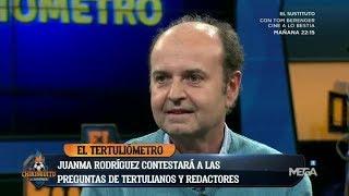 El TERTULIÓMETRO 2.0 VS. JUANMA RODRÍGUEZ