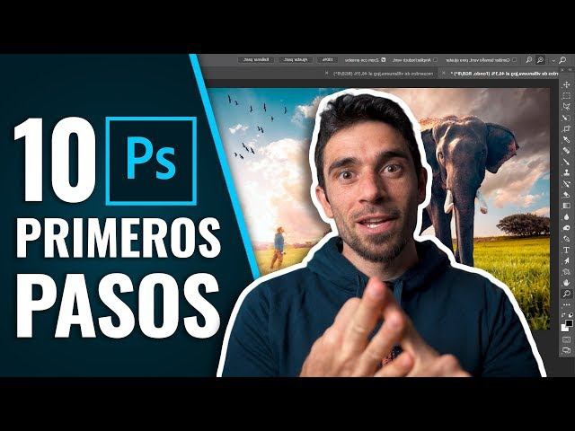 10 PRIMEROS PASOS para empezar con PHOTOSHOP