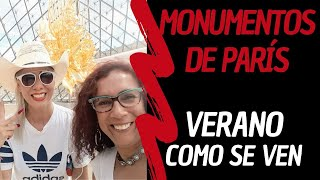 #parisapie #paris #peruanaenparis  Monumentos de parís en Verano - ¿ Cómo  Se Ven ?