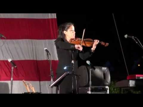 Me performing a violin solo of Amazing Grace for the Patriot Day Concert 2011 candlelight vigil at Del Valle Park in Lakewood, CA.