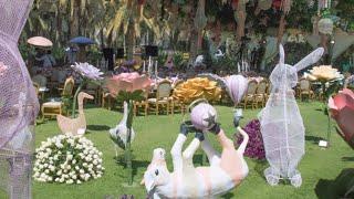 Alice In Wonderland Inspired Baptism setting!