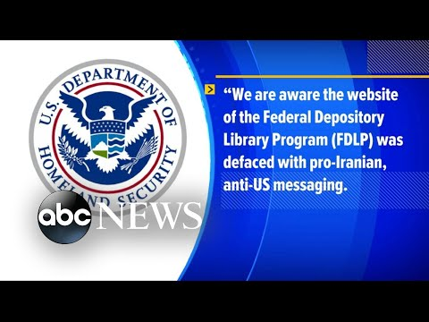 The Department of Homeland Security responds to federal website hack | ABC News
