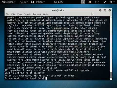 Kali Linux 2016 2 Tutorials - First Think To Do Change Source List and  Mirror List