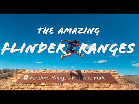 CAMPING In FLINDERS RANGES NATIONAL PARK