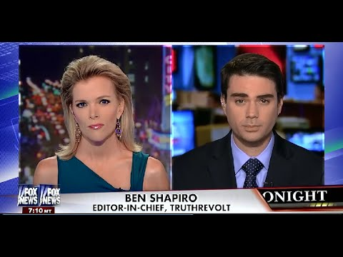 """• Ben Shapiro • This Is An Anti-Israel, """"Jew Hating"""" Administration • Kelly File • 7/10/14 •"""
