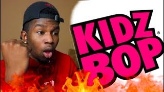 REACTING TO KIDZ BOP SONGS *cringe*