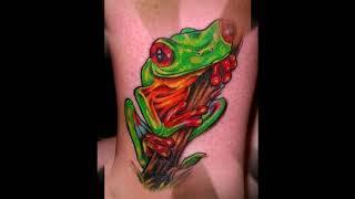 тату лягушка - коллекция интересных готовых фото татуировок