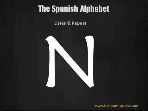 how to learn the spanish alphabet