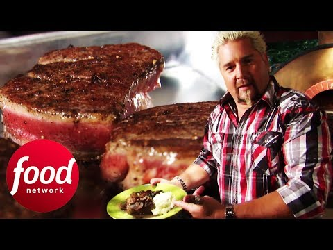 Cook Restaurant-Quality Steak At Home With Guy Fieri   Guy s Big Biteиз YouTube · Длительность: 7 мин30 с