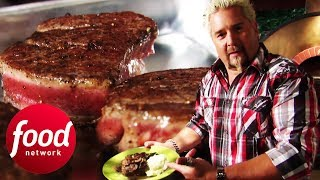 Cook Restaurant-Quality Steak At Home With Guy Fieri | Guy's Big Bite