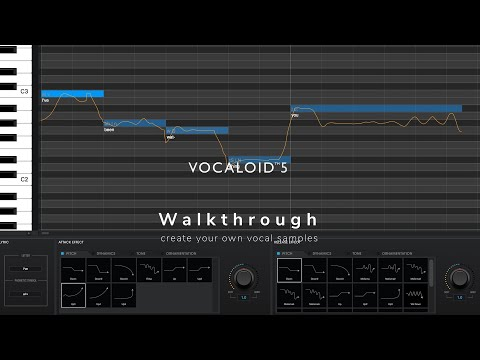 VOCALOID5 - Walkthrough