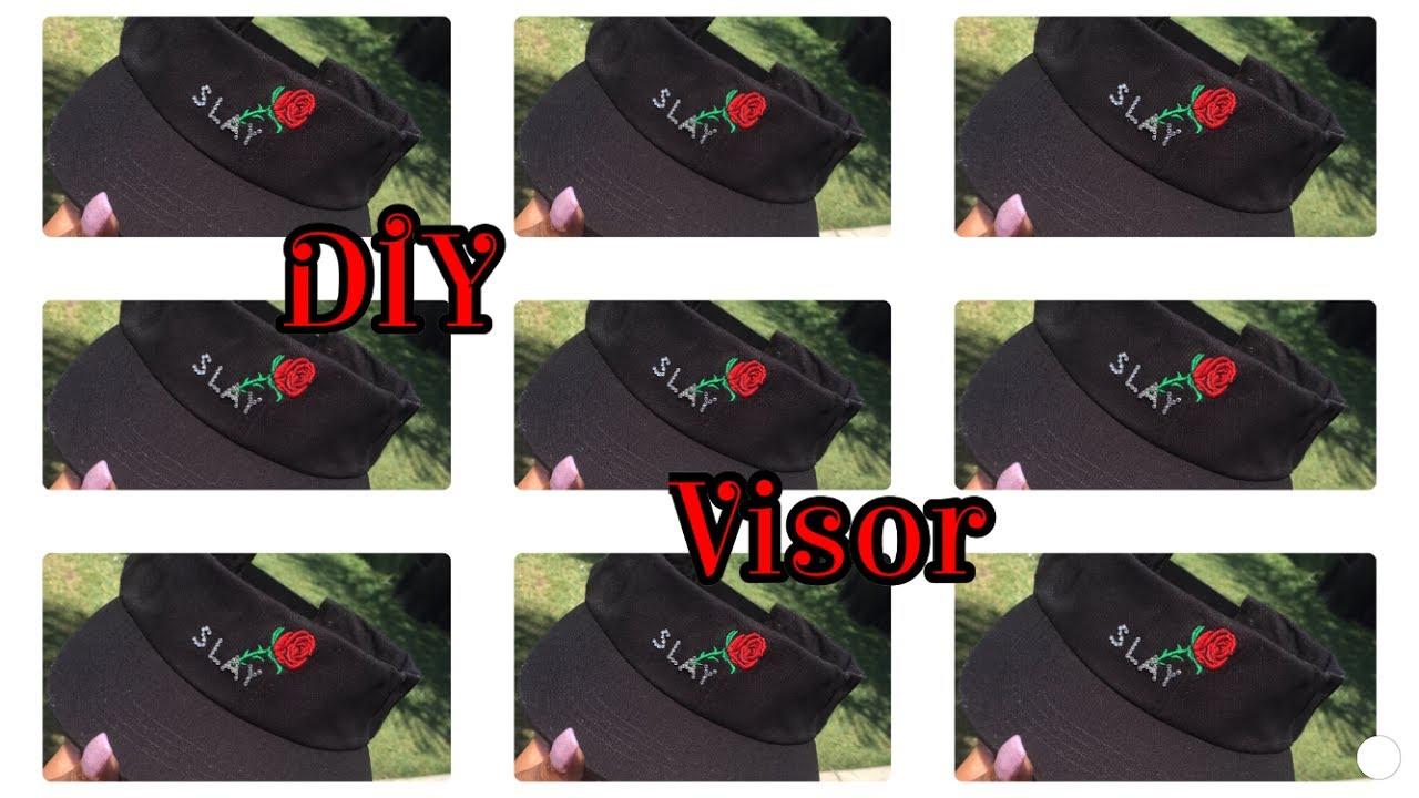 a33274542a0 DIY Sun Visor - YouTube