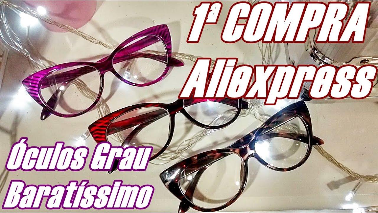 5a6b13a795a0b Como comprar óculos super barato - Primeira compra Aliexpress - YouTube