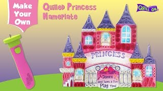 Make Your Own Quilling Nameplate