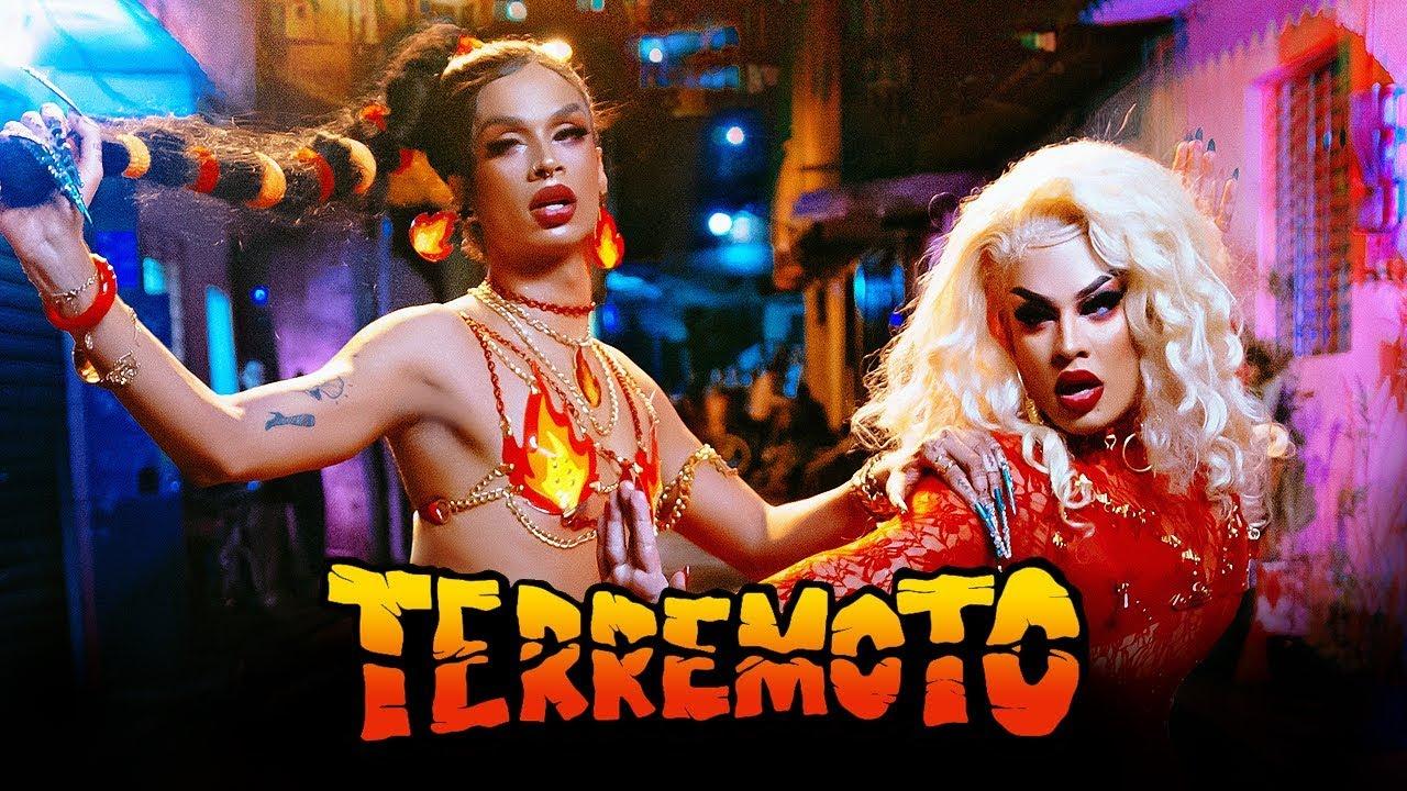 Lia Clark — Terremoto (feat. Gloria Groove) [Vídeo Oficial]