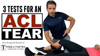 How To Check Your ACL - Top 3 Signs You Have An ACL Tear