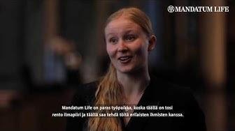 Miksi Mandatum Life on Suomen paras työpaikka? Kysyimme työntekijöiltä.
