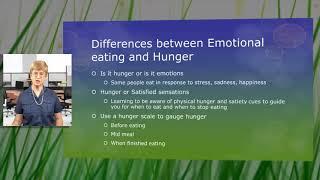 Understanding emotional eating