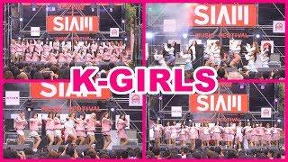 """181215 """"K-GIRLS"""" - Wonderful love + BAAM + La Vie en Rose + DKDK + LOVE BOMB + PICK ME @ Siam"""