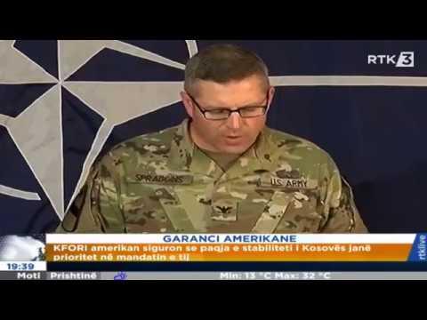 Spraggns: KFOR i në Kosovë është i përgatitur për çdo rast