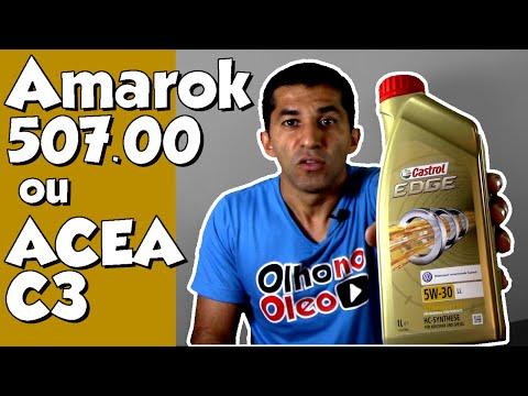 VW 50700 ou ACEA C3 qual óleo usar na Amarok???