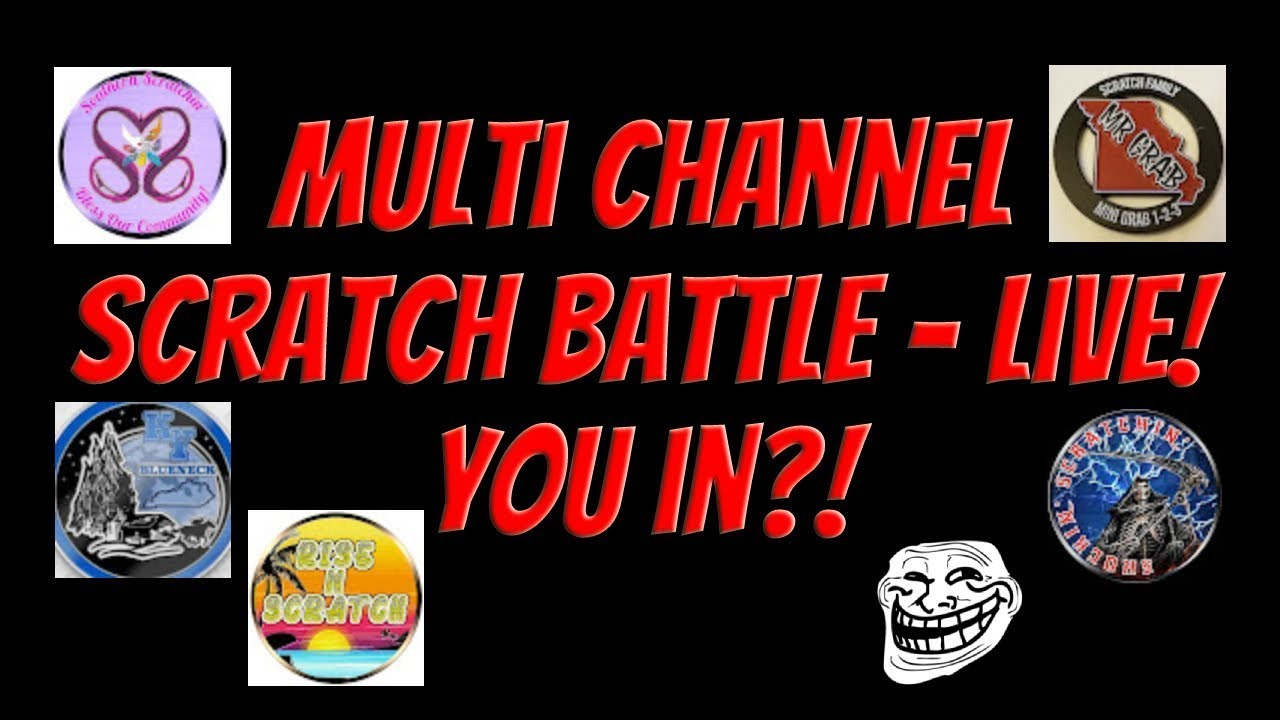 Download Multi-Channel $15 popup scratch battle! - #ScratchLifeMovement