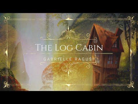 The Log Cabin – Fantasy Landscape [Digital Painting]