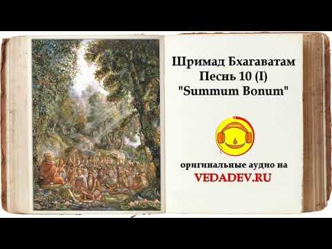 ШРИМАД БХАГАВАТАМ Песнь 10 — «Summum Bonum» (главы 1—34)