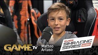 Game TV Schweiz - Matteo Artuso | SWISS SIMRACING SERIES