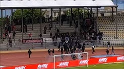 Switzerland: Lausanne-Sport hooligans attacked rival Thun fans 13.05.2018