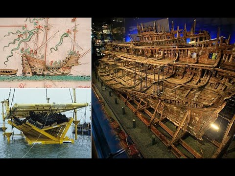 Wreck of Mary Rose has started to collapse onto itself