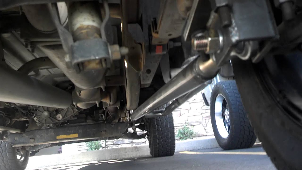 small resolution of traction bars install on duramax rikki diesel
