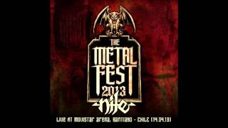 Nile Live in The Metal Fest Chile 2013 Full Show