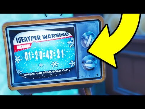 🔴 Fortnite WEATHER EVENT COUNTDOWN! ICE KING IN SPHERE & Dragon Eggs? (Fortnite Battle Royale)