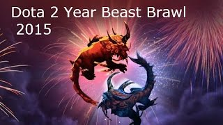 Dota 2 Year Beast Brawl 2015 Gameplay Commentary (New Bloom Festival)