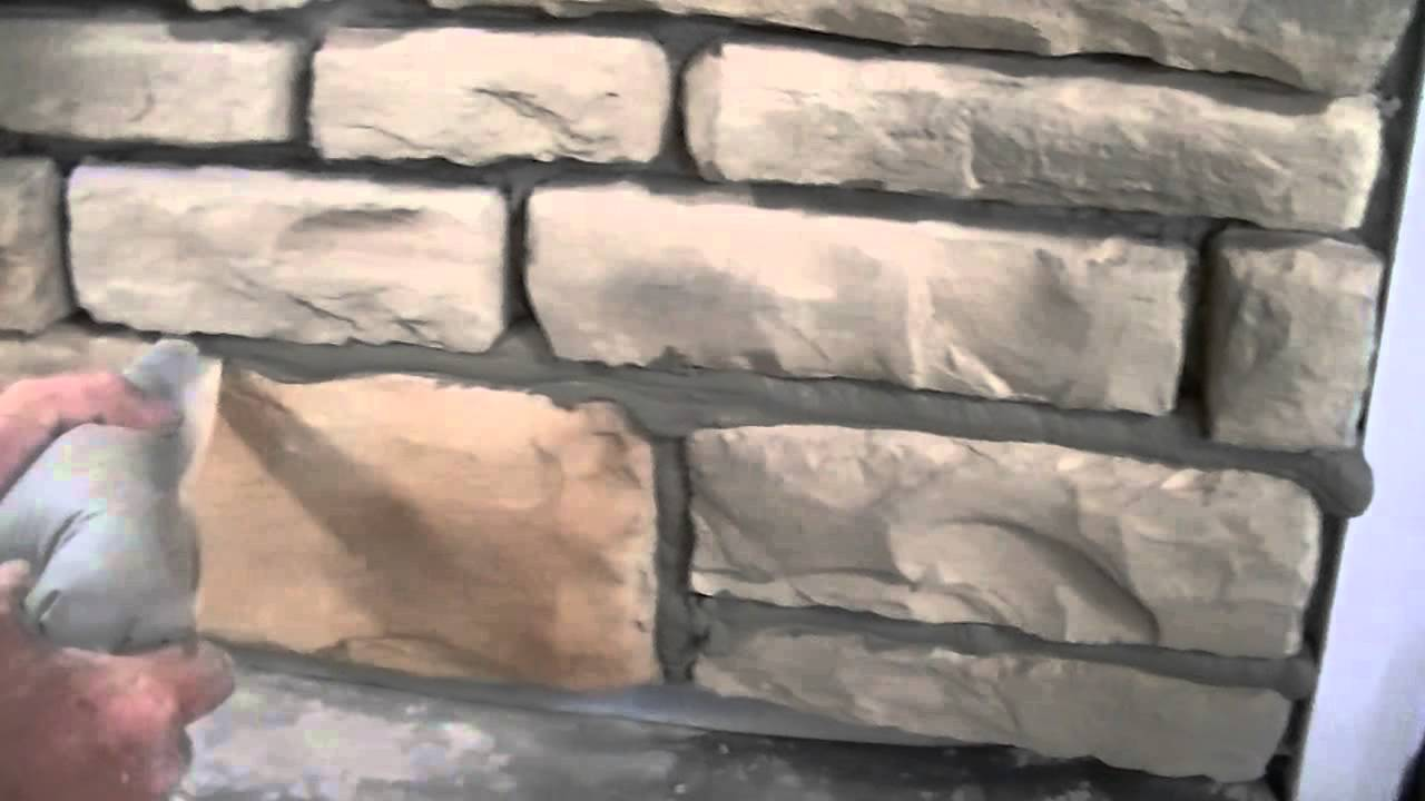 installing stone veneer mortar u0026 grout techniques provia youtube