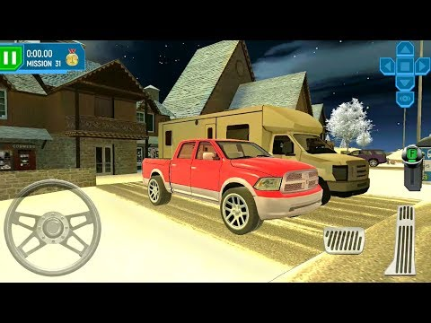 ski resort driving simulator 6 pickup truck android. Black Bedroom Furniture Sets. Home Design Ideas
