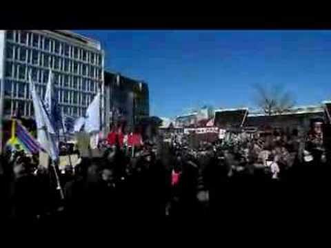 Reykjavik square, 1st May