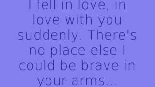 Hellogoodbye- Here in Your Arms [Remix] Lyrics