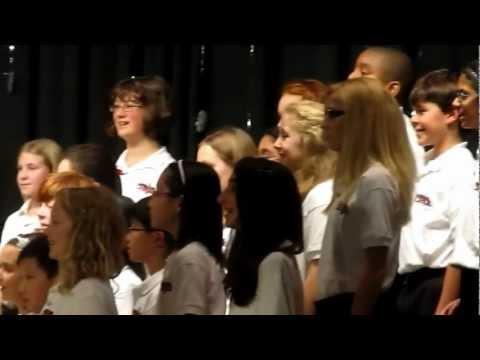 all 6th grade choir songs for winter concert
