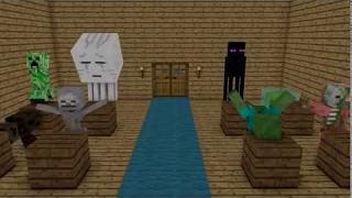 Топ 10 Minecraft Школа Мобов новые серии - Майнкрафт Сериал