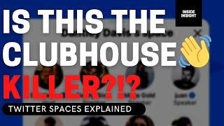 Twitter Spaces (Review) Explained 📈 Twitter Spaces vs. Clubhouse App & How To Get Access...