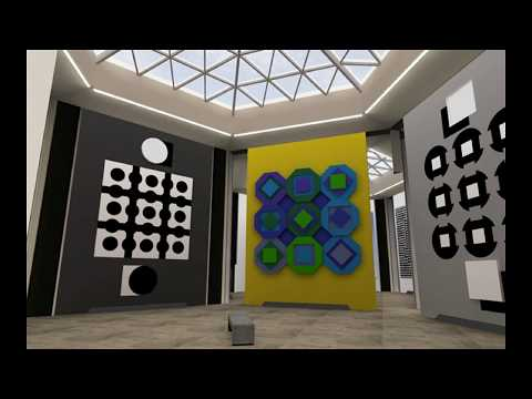 Victor Vasarely 維特·瓦薩勒利 (1906-1997) Op Art French