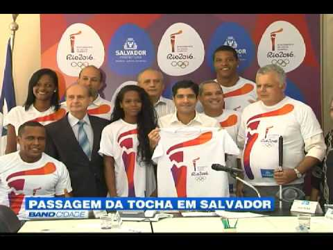 """Band Cidade - """"Passagem da tocha em Salvador"""""""