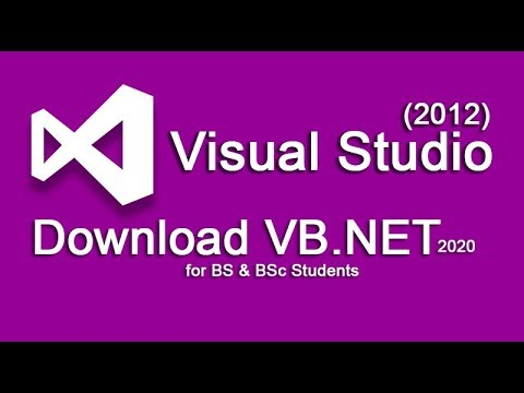How to Download Visual Basic 2012 | for BSc | NEW Method 2019-20 | thumbnail