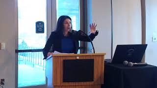Michigan Attorney General Dana Nessel speaks in Grand Haven during Sunshine Week
