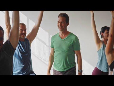 """45min. Power Yoga """"Break on Through"""" with Travis Eliot"""