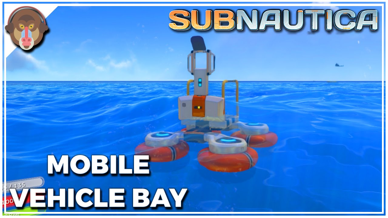 how to make a mobile vehicle bay in subnautica